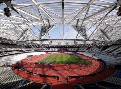 London Stadium: 2017 World Para-athletics Championships start on Friday.