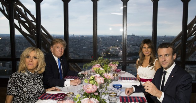 Trump says US friendship with France 'unbreakable' as he prepares to attend Bastille Day parade