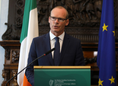 Minister for Foreign Affairs Simon Coveney speaking today on the UK's latest Brexit paper.