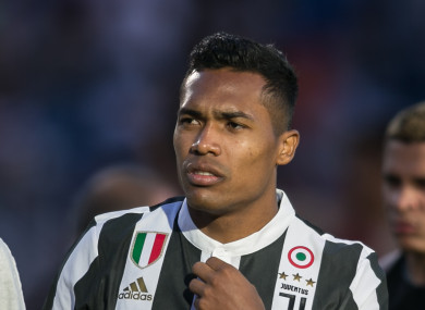 Juventus' Alex Sandro is wanted by Chelsea.