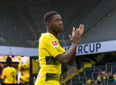 On his way to La Liga? Ousmane Dembele.