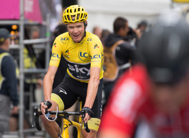 Chris Froome (file pic).