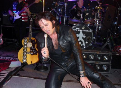 Ciaran Houlihan is one of many Irish tribute acts to the late Elvis Presley.
