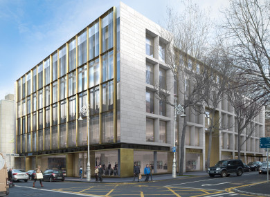 Barclays is moving into this new Dublin office - with room