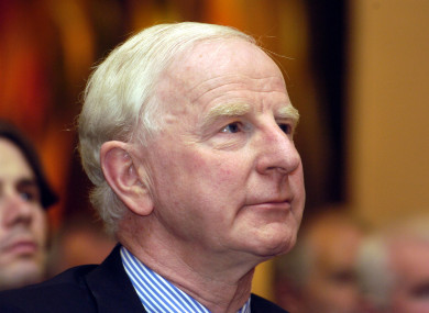 Pat Hickey, former president of the Olympic Council of Ireland.