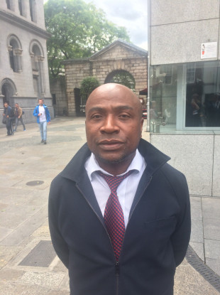 1ad99e19d44de Sammy Akorede said that dealing with racism is a daily occurrence on  Dublin's Luas network.