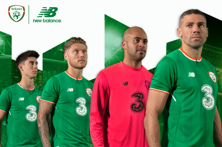 109afebdbeb Ireland's first New Balance home kit has been officially unveiled