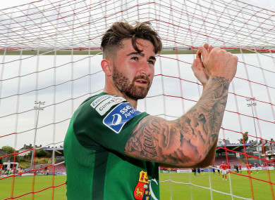 5a9f88f6063 Sean Maguire scored 20 goals for Cork City in the League of Ireland this  season before