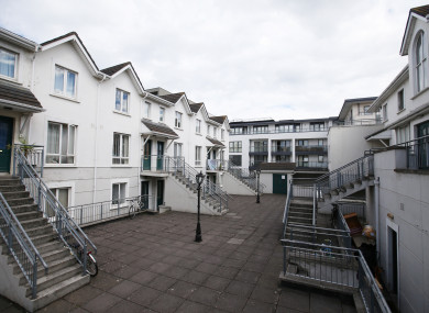Saint Helen's Court in Dun Laoghaire where residents of 17 apartments have been told they have five weeks to vacate.