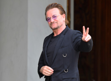 Ireland's bid includes contributions from Bono and U2 among others.