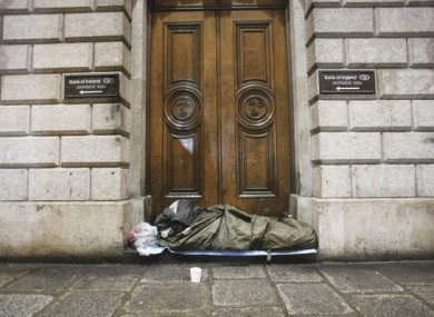 The number of homeless adults, dependents and families is increasing