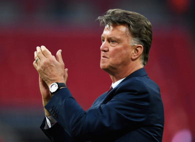 Louis van Gaal is unhappy at how he was treated by Man United.