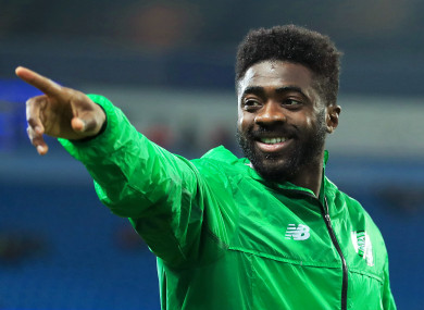 Toure played one season with the Hoops.