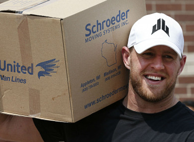 6ee957c3 NFL star raises a staggering $37million for the Hurricane Harvey ...