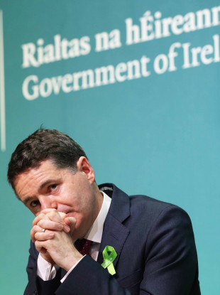 Minister for Finance and Public Expenditure Paschal Donohoe