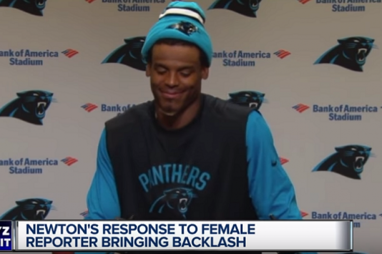 online retailer 40841 525db NFL's Cam Newton draws heavy criticism for disrespectful ...