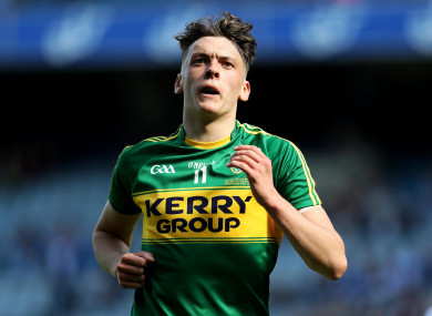 In demand: Kerry's David Clifford.