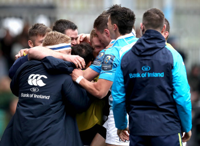 Leinster have now got maximum points from two Pool 3 games.
