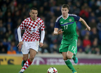 McNair has not played for his country since rupturing knee ligaments last November.
