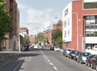 Sean MacDermott Street in Dublins' north inner-city.