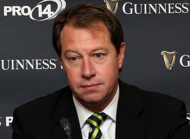 SA Rugby chief executive Jurie Roux
