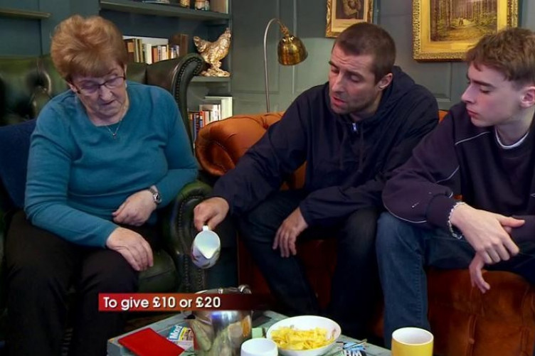 Liam Gallagher And His Irish Mam Peggy Were The Stars Of Celebrity Gogglebox Last Night