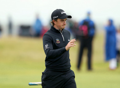 Paul Dunne (file pic)