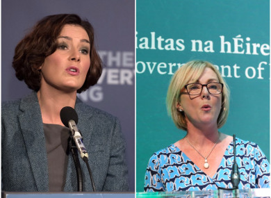 TD Kate O'Connell and Minister Regina Doherty
