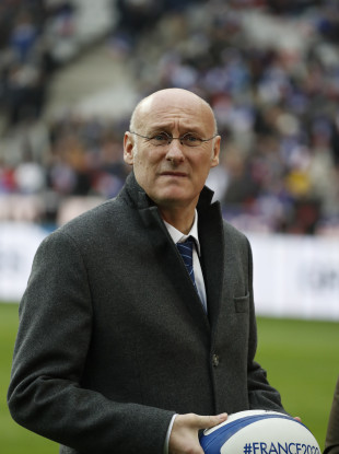 Bernard Laporte President of the French Rugby Federation (file pic).