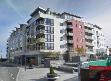 Station Hill apartment complex at Clongriffin, Dublin