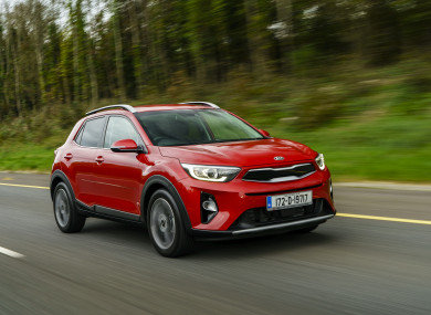 review: the kia stonic looks like a crossover but drives like a car
