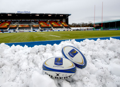 Allianz Park pictured ahead of today's rescheduled game.