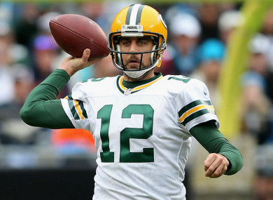 Aaron Rodgers has been out injured for 10 weeks.