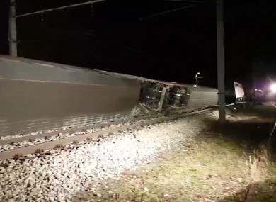 Two passenger trains collide near Vienna, Austria
