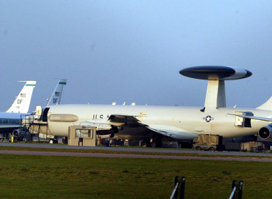 US planes on the tarmac at RAF Mildenhall. (File photo)