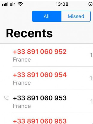 Get a few missed calls from a French number? Don't ring back - it's