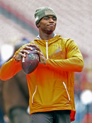 Josh Gordon is back for the Browns this year.