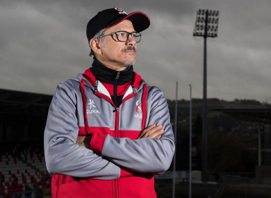 Ulster Director of Rugby Les Kiss.
