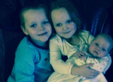 Brandon, Lacie and Lia all died in Monday's house fire.