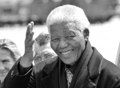Nelson Mandela in 2004