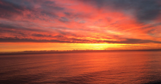 PHOTOS: There was a gorgeous sunrise this morning