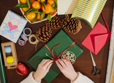 How To Wrap Christmas Presents.Poll Do You Wrap Christmas Gifts Thejournal Ie