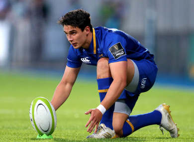 Carbery uses injury lay-off to work on place-kicking with Ireland