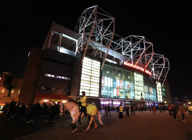 Sevilla fans will have to fork out to see their team at Old Trafford.