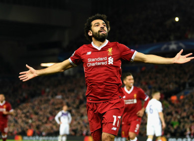 e5013f8c07f Mohamed Salah wins African Footballer of the Year · The42