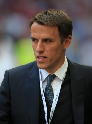 Phil Neville (file pic).