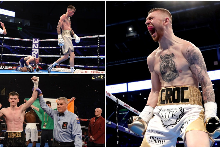 Croc', 'The Silencer', and 'The Naas Tommy Hearns': Irish pro