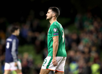 Long will be aiming to get on the scoresheet for Ireland for the first time since October 2016 later this year.