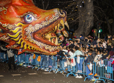 The traditional parade takes place during the eve of the Epiphany, marking the end of the Christmas festivities.