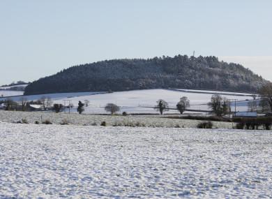 The Heath, Portlaoise in December